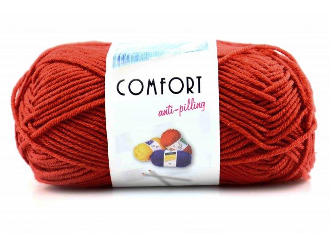 příze Comfort 53125 rezavá