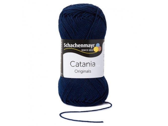 Příze Catania 124 tmavě modrá