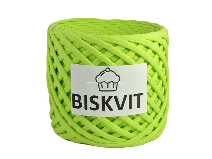 špagáty Biskvit 214 limetkově zelené