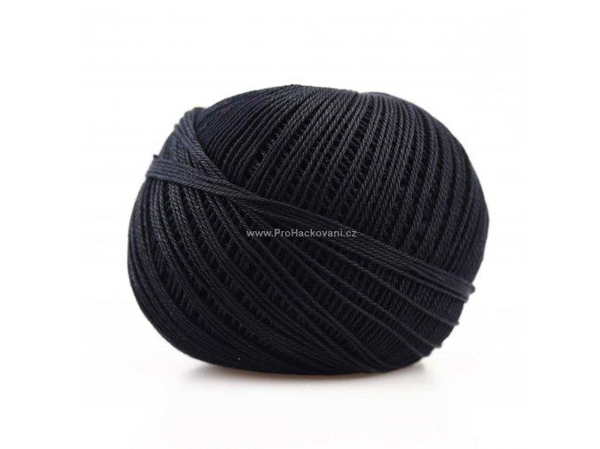 Háčkovací příze Sněhurka 9994 černá