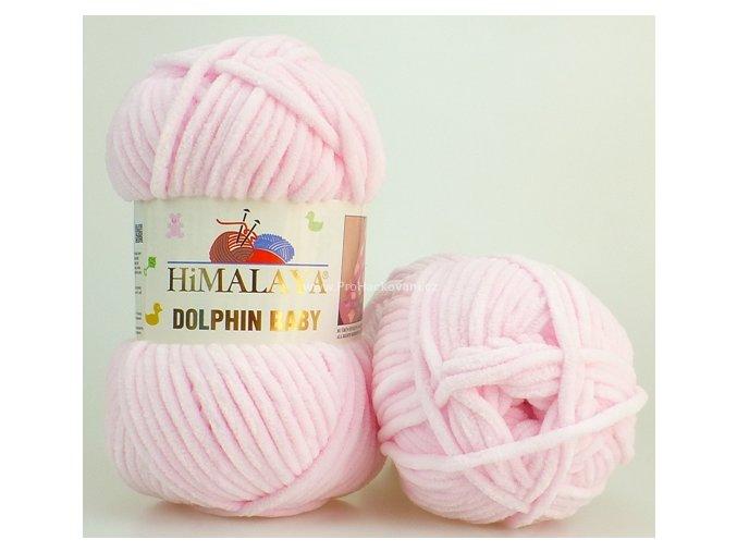 příze Dolphin Baby 80303 pastelově růžová