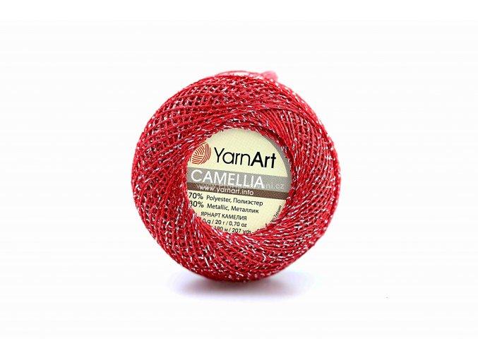 příze Camellia 416 červená