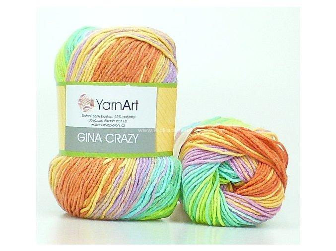 Gina Crazy 8202 jarní barevná variace