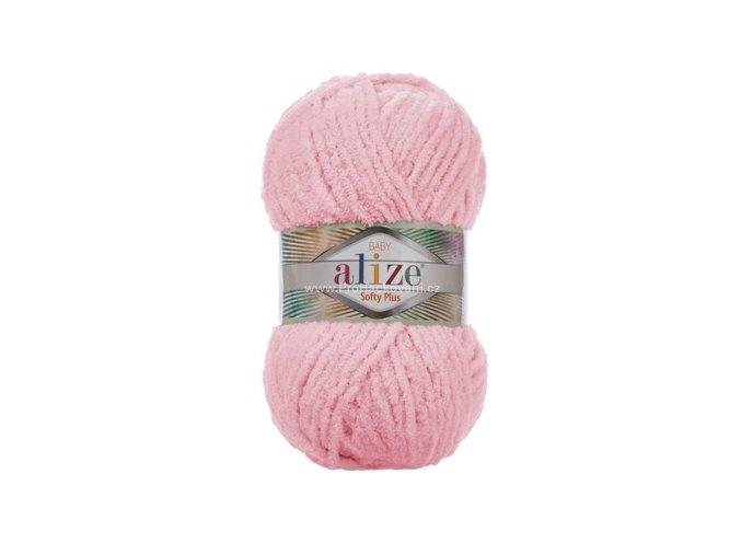 příze Softy Plus 31 světle růžová