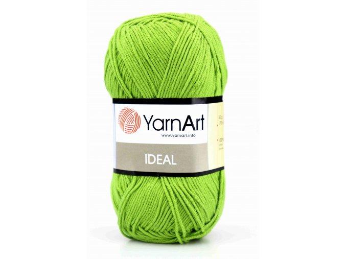 příze Ideal 235 zelená