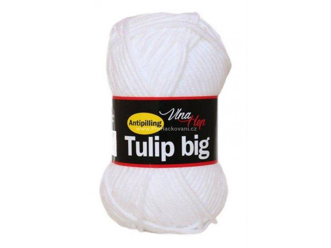 příze Tulip Big 4002 bílá