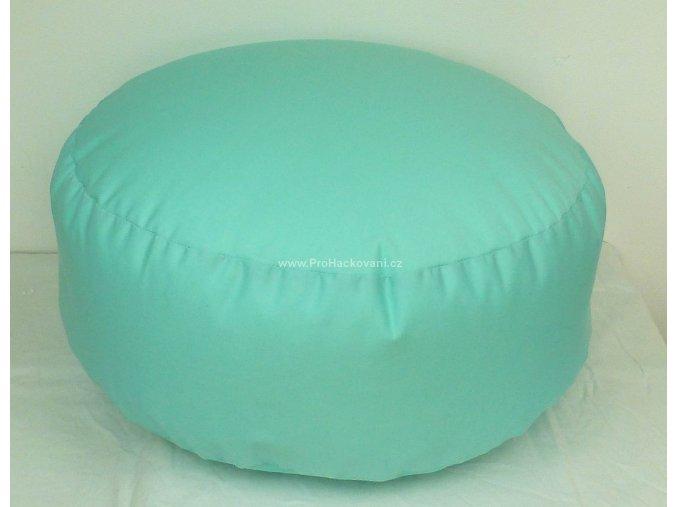 Vnitřní vak do pufu 38x15 cm mentolový