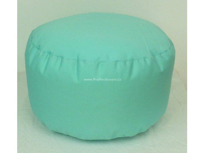 Vnitřní vak do pufu 38x20 cm mentolový