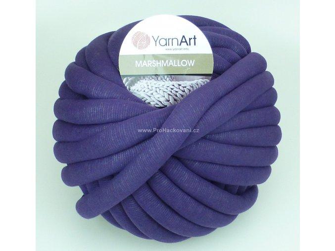 příze Marshmallow 914 tmavě fialová