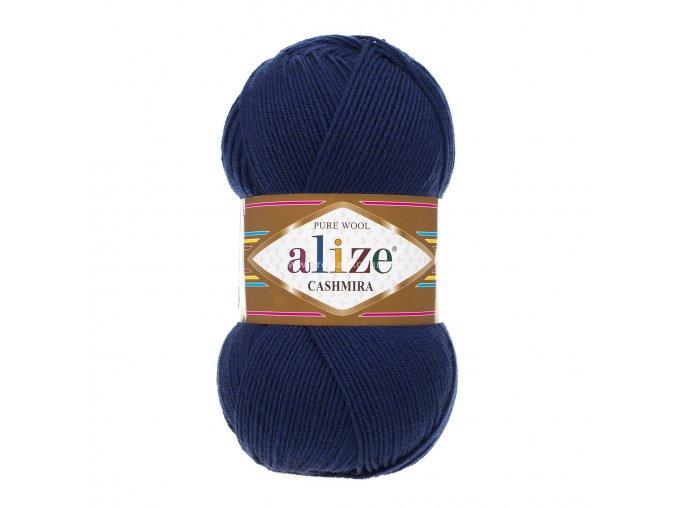 příze Cashmira 215 tmavě modrá