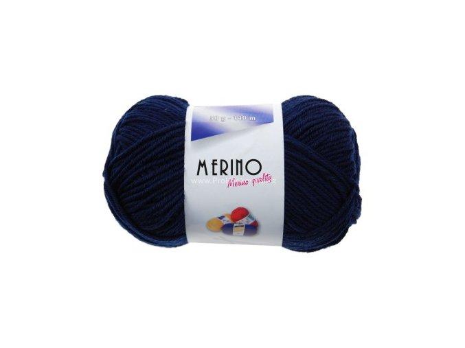 příze Merino 14725 tmavě modrá