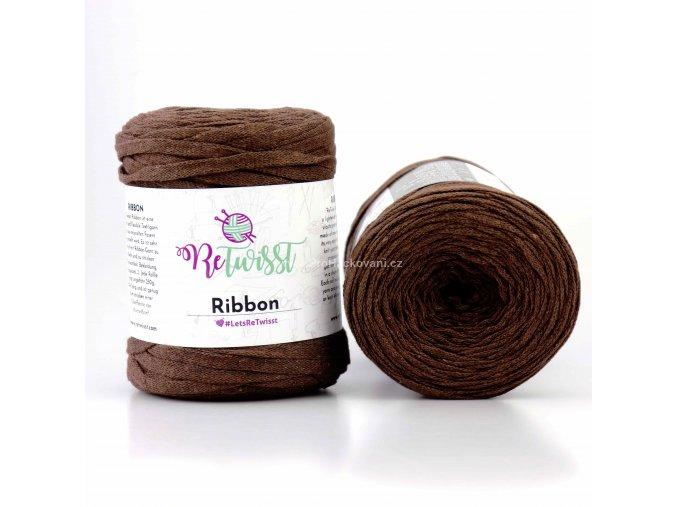 Ribbon ReTwisst 11 hnědá