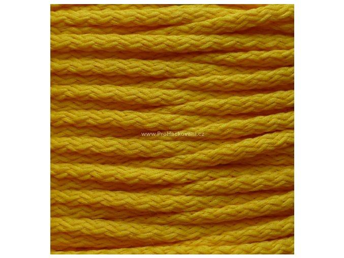 Šňůry PES 04 sytě žluté