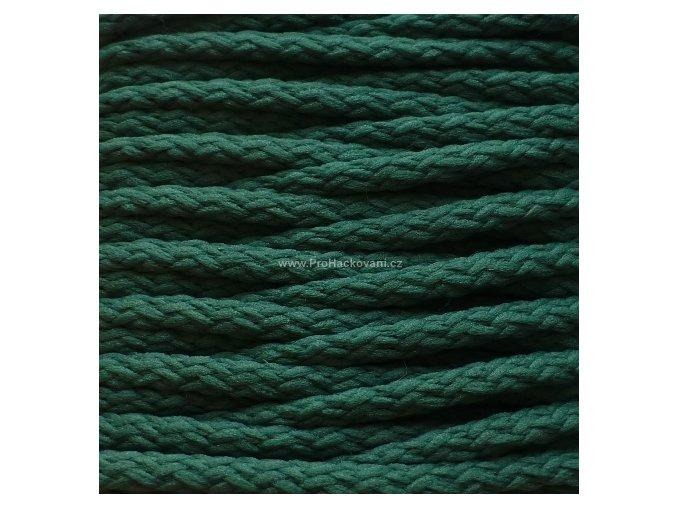 Šňůry PES 33 tlumená zelená