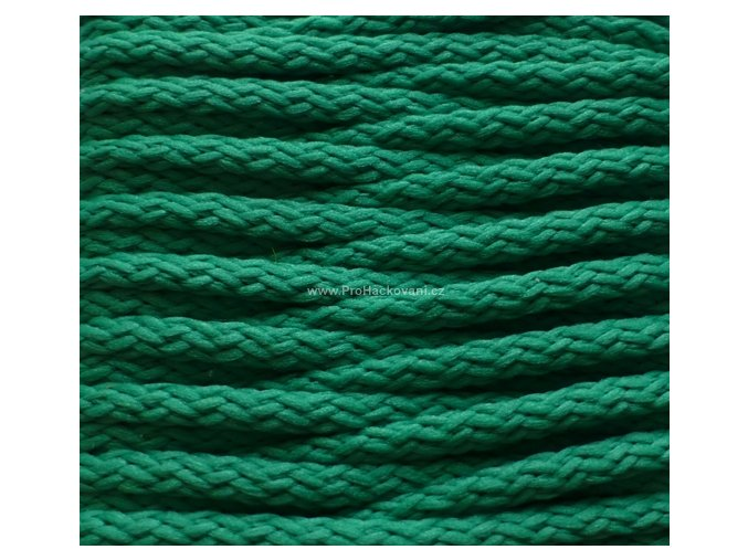 Šňůry PES 34 zelená