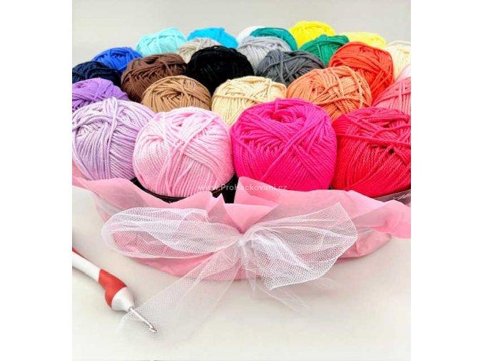 Příze Camilla 8038 azalková růžová