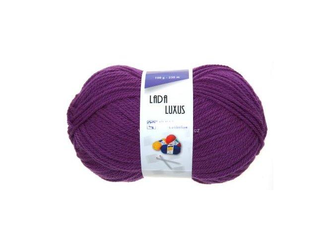 příze Lada Luxus 53155 fialová