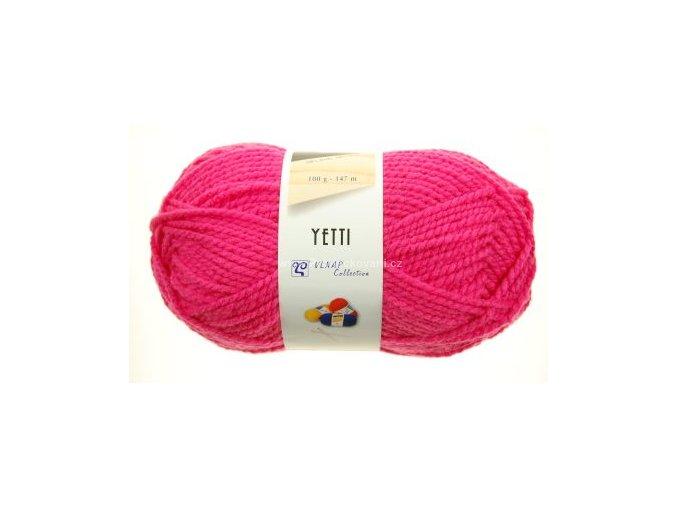 příze Yetti 52723 sytá růžová