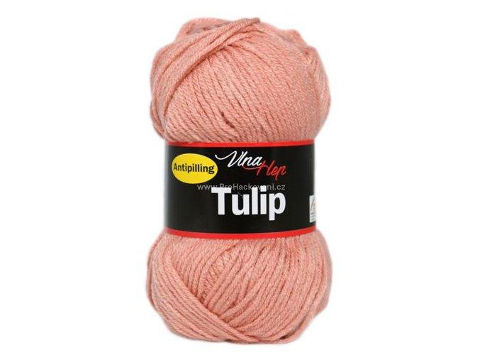 příze Tulip 4402 matná meruňková
