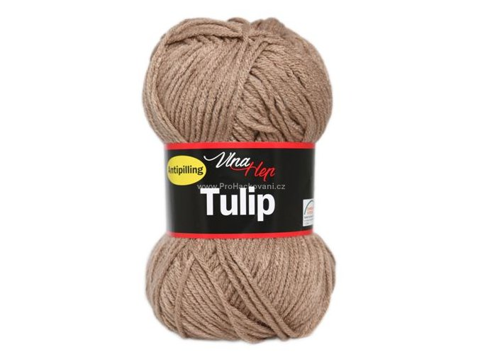 příze Tulip 4403 krémově hnědá