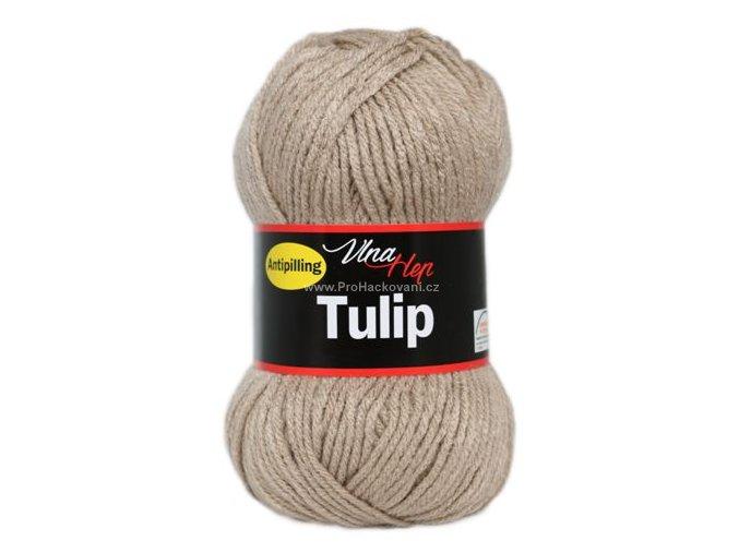 příze Tulip 4221 světlá hnědobéžová