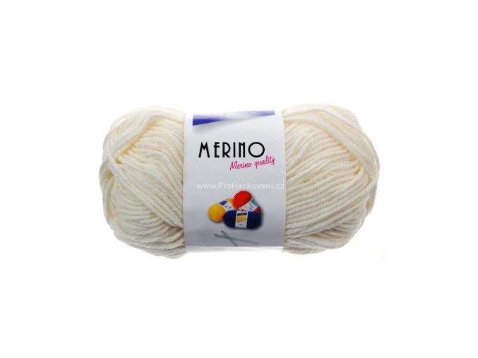 Příze Merino 14701 bílá