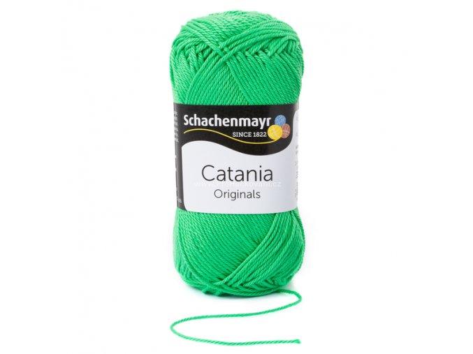 Příze Catania 389 zelená limetka