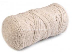 Ribbon Yarn Art krémové