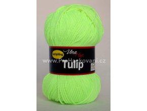 příze Tulip 4311 neon světle zelená