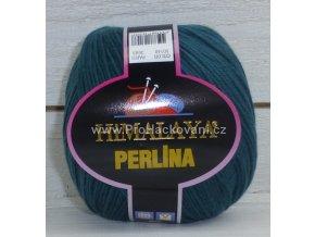 příze Perlina 50140 tmavě zelená