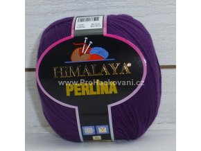 příze Perlina 50138 tmavě fialová