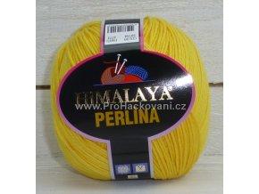 příze Perlina 50144 žlutá