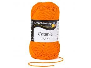 Příze Catania 281 oranžová