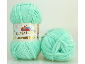 příze Dolphin Baby 80345 mentol