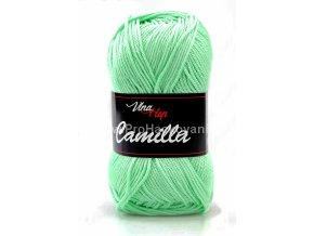 Příze Camilla 8140 mentolově zelená