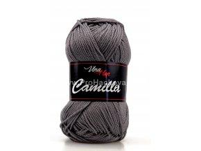 Příze Camilla 8235 tmavě šedá