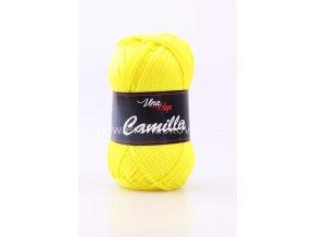 Příze Camilla 8184 citronově žlutá