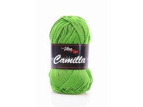 Příze Camilla 8156 trávově zelená