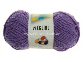 příze Merline 14803 fialová