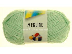 příze Merline 14753 jemná zelená