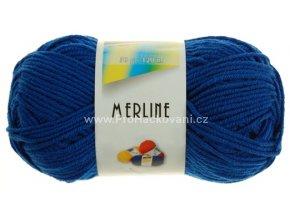 příze Merline 14723 modrá