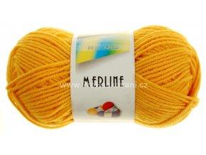 příze Merline 14771 oranžovožlutá