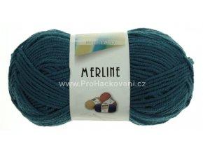příze Merline 14777 egyptská modrá