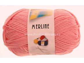 příze Merline 14749 růžová