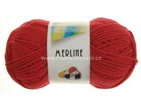 příze Merline 14715 červená