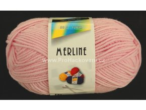 příze Merline 14748 světle růžová