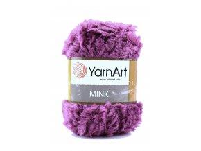 příze Mink 338 fialová