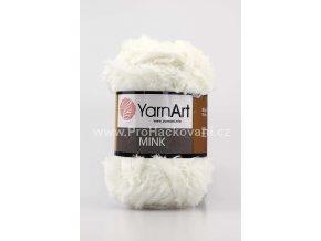 příze Mink 330 přírodní bílá