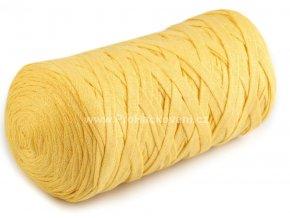 Ribbon Yarn Art světle žluté