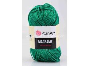 příze Macrame M158 zelený petrol